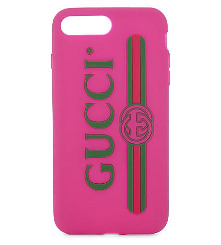 GUCCI Logo iPhone 7 Plus case (Box+pink