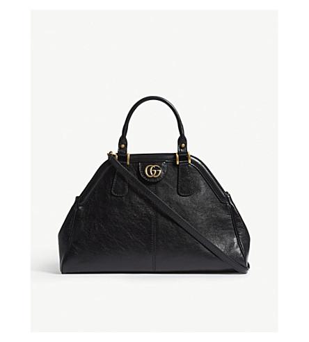 GUCCI Re(Belle) leather shoulder bag (Black