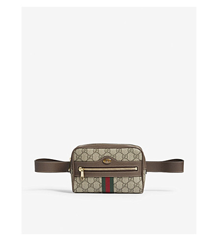 GUCCI GG Supreme belt bag (Brown