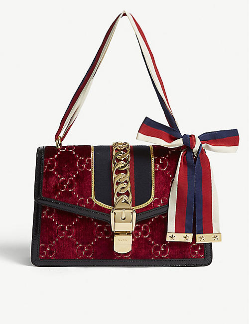 gucci bags cross body bags marmont more selfridges