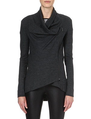 HELMUT LANG Sonar knitted wool jacket