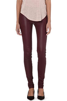 HELMUT LANG Leather trousers