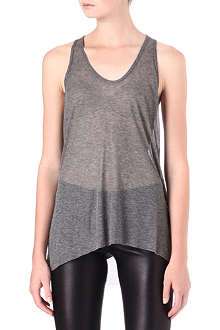 HELMUT LANG Voltage ribbed vest