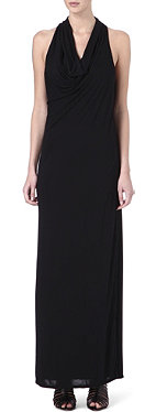 HELMUT LANG Kinetic jersey maxi dress