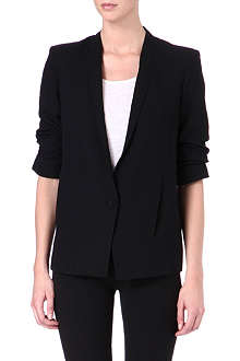 HELMUT LANG Gathered-sleeve blazer
