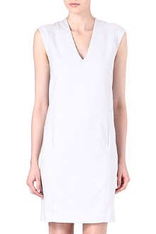 HELMUT LANG Double vent v-neck dress