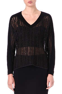 HELMUT LANG Textured jumper