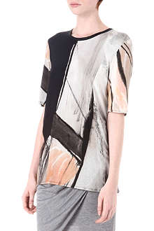 HELMUT LANG Ribbed neck top