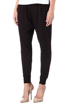 HELMUT LANG Villous jogging bottoms