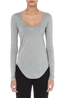 HELMUT LANG Long-sleeved jersey top