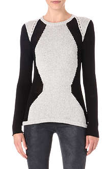 HELMUT LANG Abstract jumper