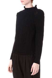HELMUT LANG Cord turtleneck jumper