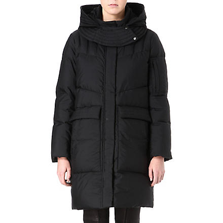HELMUT LANG Quilted padded coat (Black