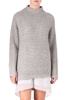 HELMUT LANG Wool-blend turtleneck jumper