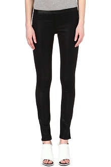 HELMUT LANG Bat Wash coated mid-rise leggings