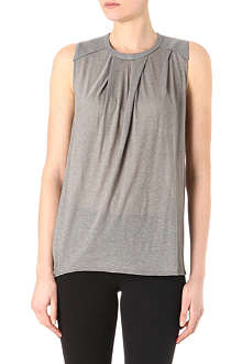 HELMUT LANG Sleeveless draped top