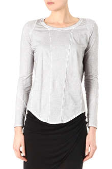 HELMUT LANG Multi-panel cotton top