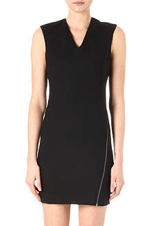 HELMUT LANG Asymmetric-zip dress