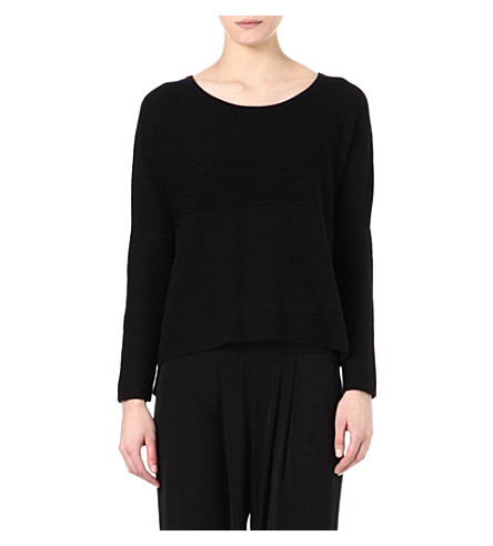 HELMUT LANG Wool-blend jumper (Black
