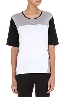 HELMUT LANG Colour-block jersey t-shirt