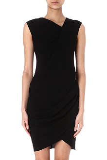 HELMUT LANG Asymmetric draped dress
