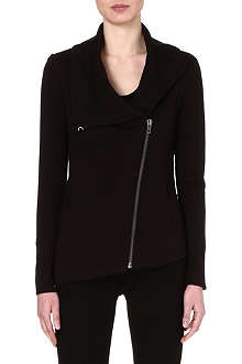 HELMUT LANG Asymmetric zip jacket