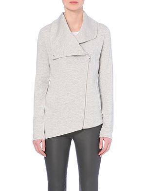 HELMUT LANG Asymmetric zip jacket