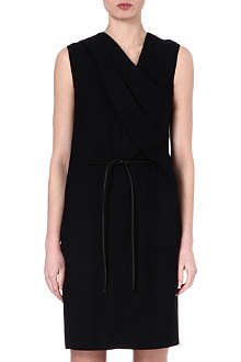 HELMUT LANG Asymmetric-neckline dress