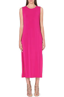 HELMUT LANG Split-sides stretch-jersey dress