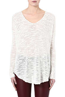 HELMUT LANG Knitted silk jumper