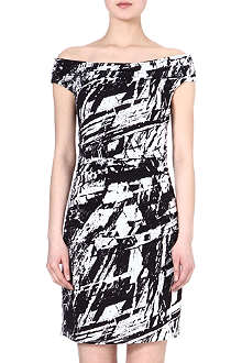 HELMUT LANG Meteor-print dress