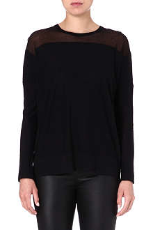 HELMUT LANG Wool and cashmere-blend jumper