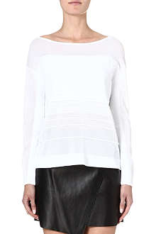 HELMUT LANG Linear knitted jumper