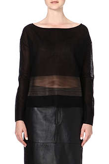 HELMUT LANG Sheer-panel jumper