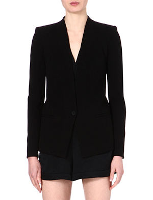 HELMUT LANG Gala stretch-crepe blazer
