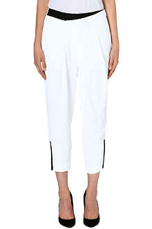 HELMUT LANG Origami cropped trousers