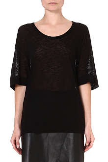 HELMUT LANG Semi-sheer t-shirt