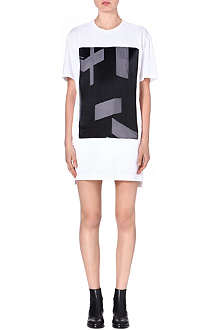HELMUT LANG Cotton t-shirt dress