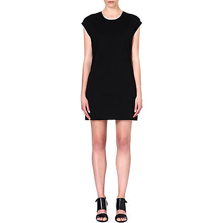 HELMUT LANG Jersey t-shirt dress (Black