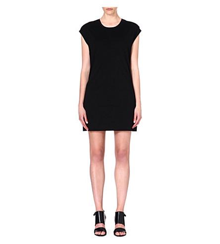 HELMUT LANG Jersey t-shirt dress (Black