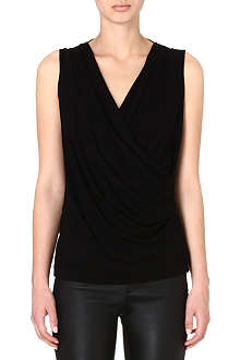 HELMUT LANG Scala sleeveless jersey top
