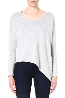 HELMUT LANG Asymmetric knitted jumper