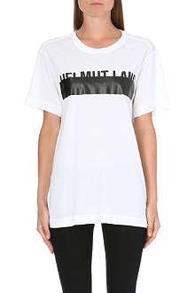 HELMUT LANG Logo-print jersey t-shirt