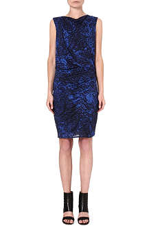 HELMUT LANG Patterned jersey dress