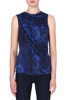 HELMUT LANG Printed jersey top