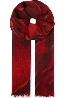 HELMUT LANG Mars print scarf