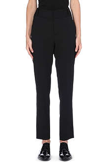 HELMUT LANG Straight-cut slim-fit trousers
