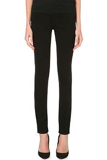 HELMUT LANG Slim-fit straight-leg stretch-denim leggings