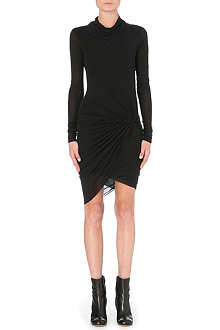 HELMUT LANG Wrap jersey dress