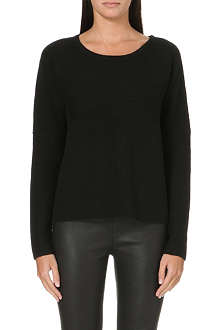 HELMUT LANG Ribbed wool-blend jumper